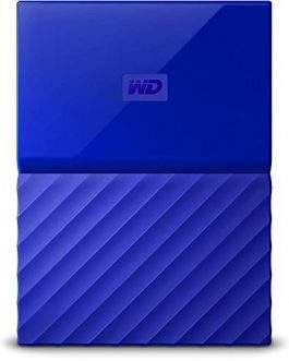 Disco Externo 2.5″ Western Digital My Passport 1TB USB 3.0 Preto